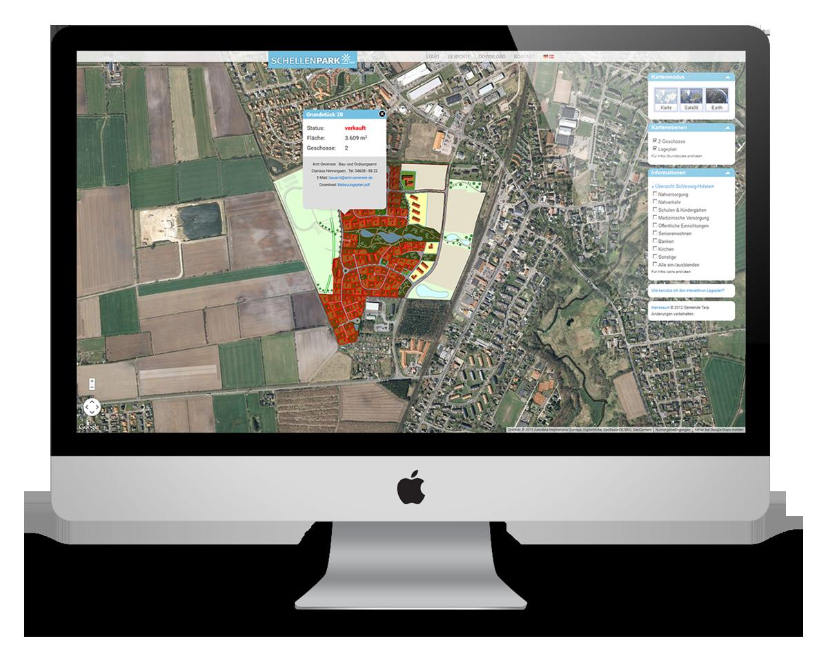 Schellenpark - innovative Vermarktung